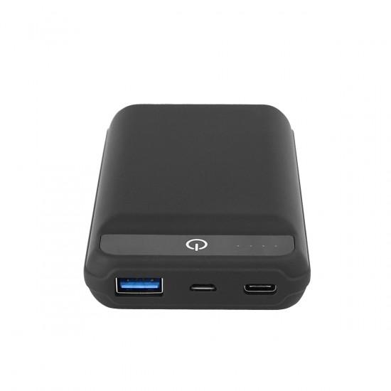 Power Bank Tabit 10.0 10000mAh schwarz 1x Typ-C, 1x USB-A Fast Charge 3