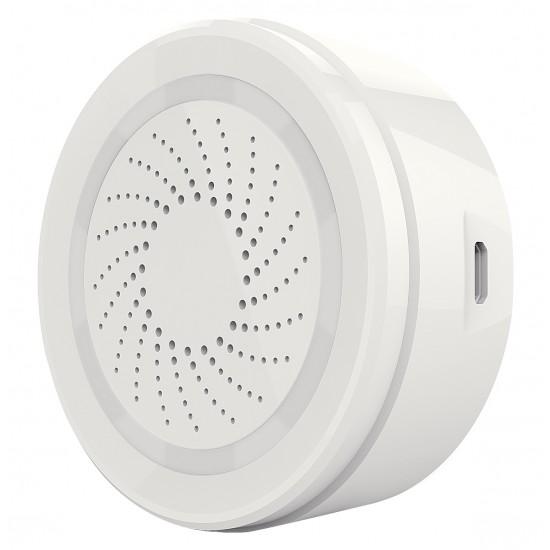 WLAN Smart Home Sicherheits Paket - Basic 4-teilg Bewegungsmelder + Sirene + 2x Tür/Fensterkontakt