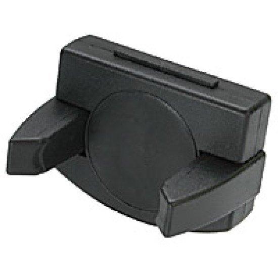 Kfz-Halterung Bogen schwarz 4-7cm