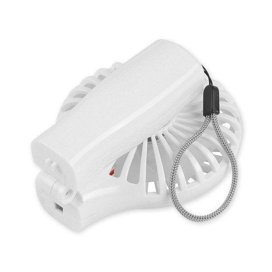 Foldable Mini Desktop Fan, white
