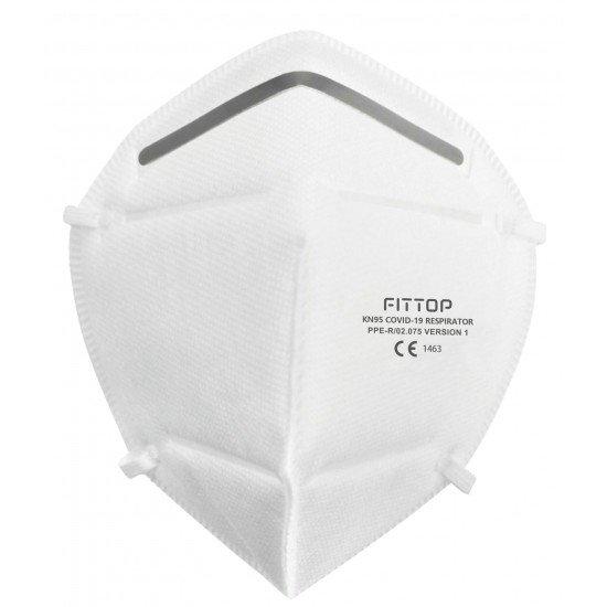 Partikelfiltrierende Halbmaske FFP2 KN95 FM81 Einzeln verpackt, Nicht Steril