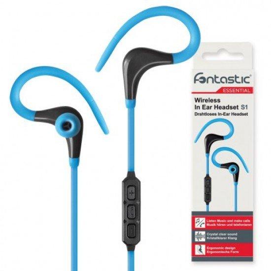 Essential Drahtloses In-Ear Headset S1 blau/schwarz