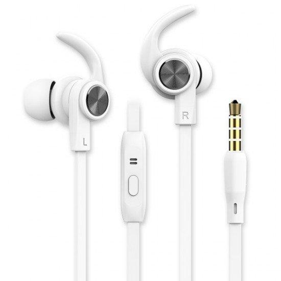 In-Ear Sport Headset SPRY 3.5mm schwarz Rufannahme-Taste, Sicherer Tragekomfort