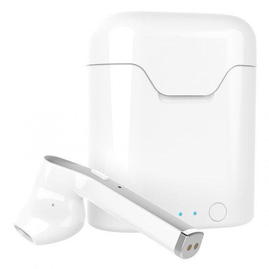 True Wireless Stereo Kopfhörer mit Lade-Etui Auto-Pairing, Musik-Steuerung, Dima, ws