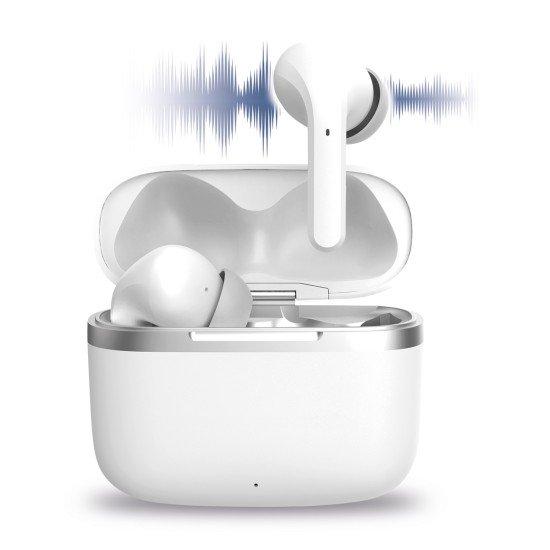 TWS In-Ear Kopfhörer mit ANC Shagi inkl Ladebox ws aktive Geräuschunterdrückung komp kabelloses Laden