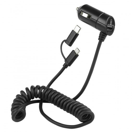 Car Charger Nano Connect Micro-USB 3A black