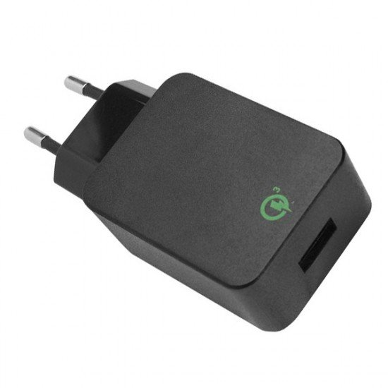 AC Charger USB Quick 3.0 black
