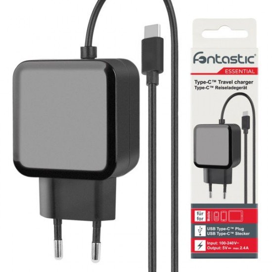 Essential AC charger  Type-C  1.2M