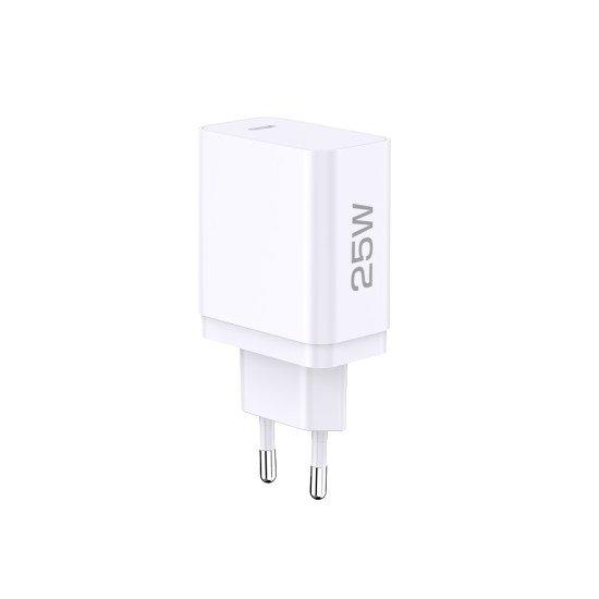 Netzteil Sama USB Typ-C PD 25W weiß PD, PPS kompatibel mit Samsung und weitere Marken