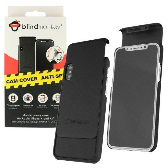 Handyhülle Blind Monkey mit Kameraschutz komp. mit Apple iPhone X