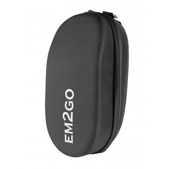 E-Scooter Hard Shell Handlebar Case - EM2GO, black