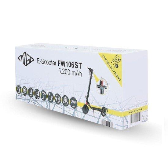 EM2GO Pappverpackung für FW106ST  5.2Ah E-Scooter für Artikel 254307