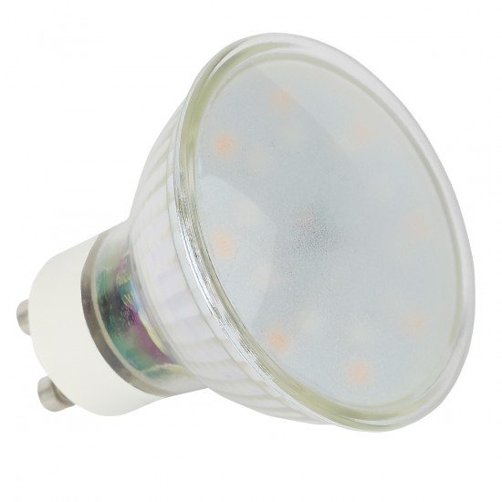 WLAN-LED-Lampe 5W GU10, Dimmbar Farbe+Warmweiß komp. zu Android,iOS,Alexa,Google Assistant