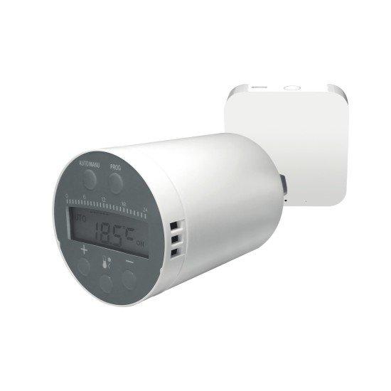 WLAN Smart Home Paket - Heizen 2-teilig, weiß Funk-Heizkörperthermostat + WLAN-Gateway