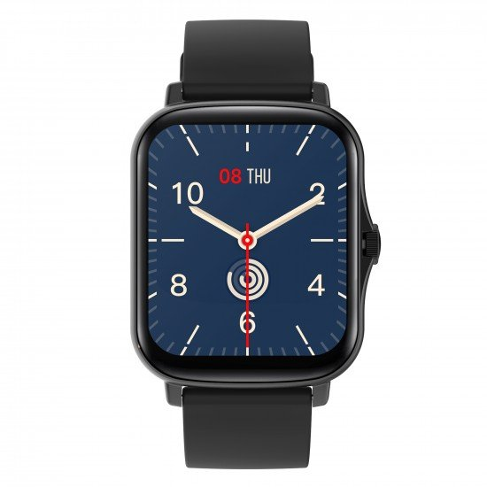 "Smarte Armbanduhr FontaFit 480CH Talis schwarz 1,69"" Display, Full-Touch, IP67"