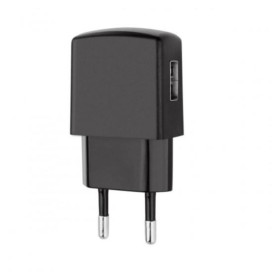 Essential Netzteil USB 1A schwarz