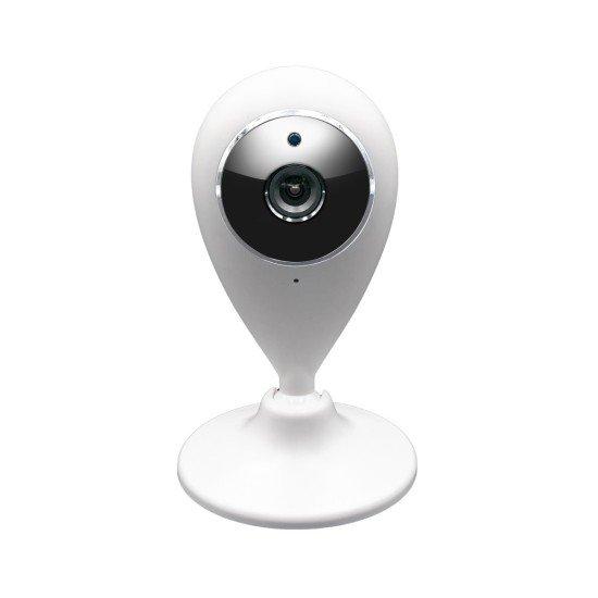 WLAN IP Kamera mit Bewegungserkennung Nachtsicht, MicroSD Aufnahme, 2-Wege-Audio